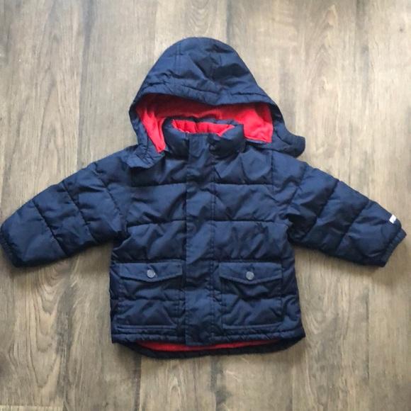 f01be0415381 Toddler Boys Gap Winter Jacket Blue Size 3t